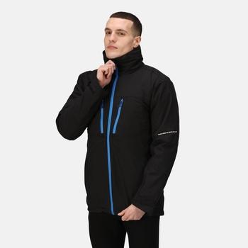 Men's X-Pro Evader III 3 in 1 Waterproof Insulated Jacket Black Oxford Blue