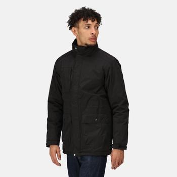 Men's Darby III Waterproof Insulated Parka Jacket Black