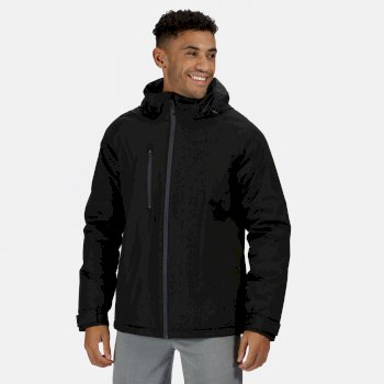 Men's Honestly Made Recycled Waterproof Insulated Jacket Black