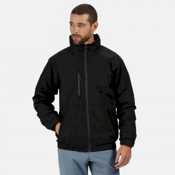 Men's Honestly Made Recycled Waterproof Insulated Bomber Jacket Black