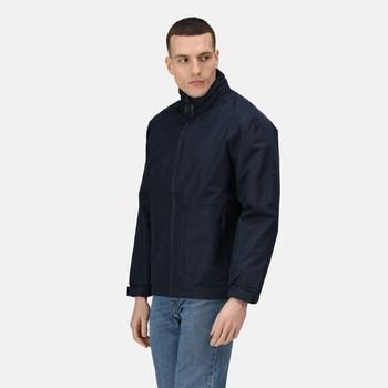 Men's Hudson Fleece Lined Waterproof Insulated Jacket Navy
