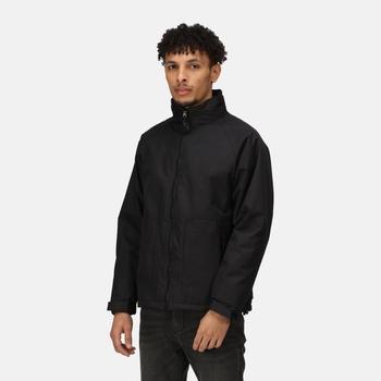 Men's Hudson Fleece Lined Waterproof Insulated Jacket Black