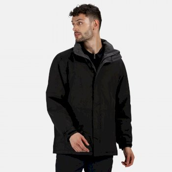 Men's Beauford Waterproof Insulated Jacket Black