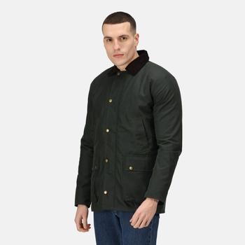 Men's Banbury Water Repellent Wax Jacket Dark Khaki