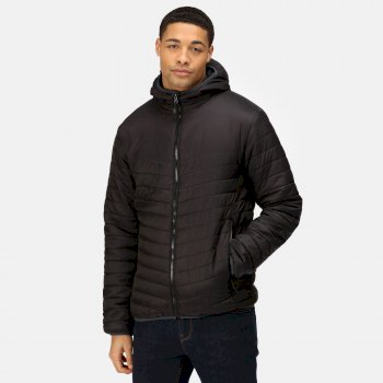Men's Acadia II Warmloft Down Touch Insulated Hooded Jacket Black