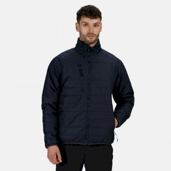 Men's Glacial Warmloft Thermal Insulated Jacket Navy