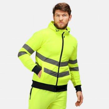 Męska bluza o zwiększonej widoczności Professional żółta