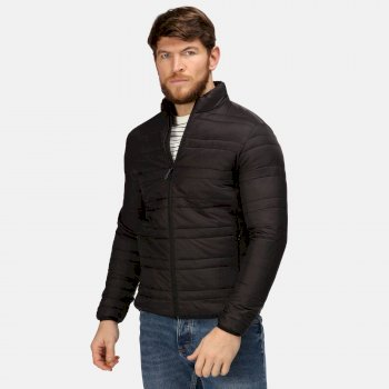 Men's Firedown Waterproof Jacket Black Black