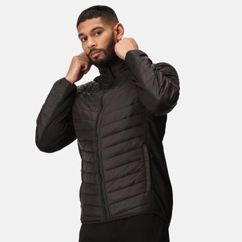 Men's Tourer Hybrid Jacket Black