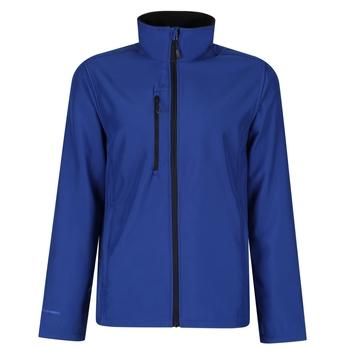 Men's Honestly Made Recycled Printable Softshell Jacket New Royal