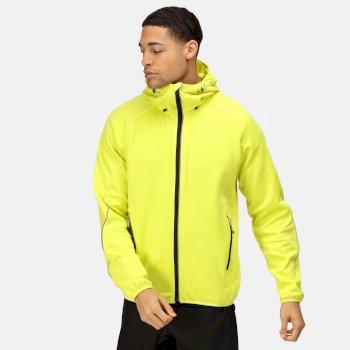 Men's Helsinki Stretch Softshell Jacket Neon Spring