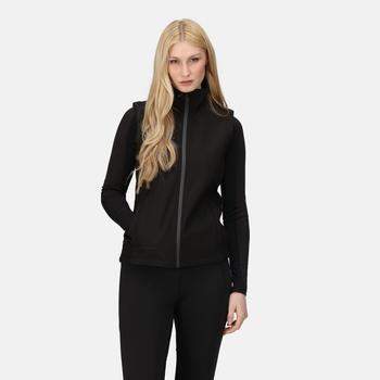 Women's Ablaze 3-layer Printable Softshell Jacket Black