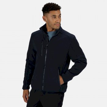 Professional Men/'s Asgard II Quilted Fleece Black