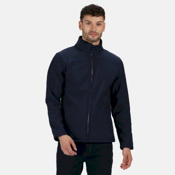 Men's Ablaze Printable Softshell Jacket Navy