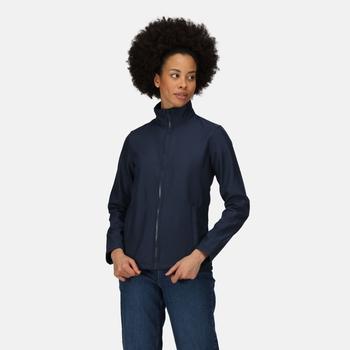 Women's Ablaze Printable Softshell Jacket Navy