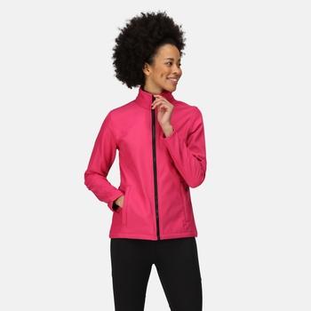 Damska kurtka softshell do narduku Ablaze Professional różowa
