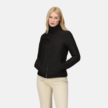 Women's Ablaze Printable Softshell Jacket Black