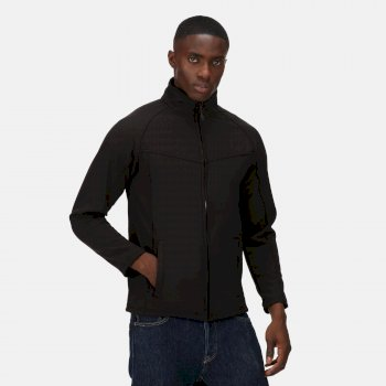 Men's Uproar Interactive Softshell Jacket Black