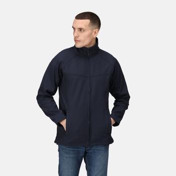 Men's Uproar Interactive Softshell Jacket Navy