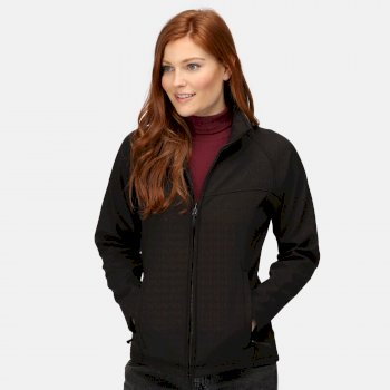 Women's Uproar Interactive Softshell Jacket Black