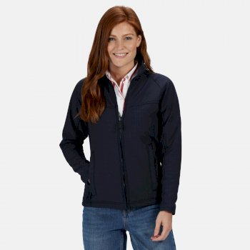 Women's Uproar Interactive Softshell Jacket Navy