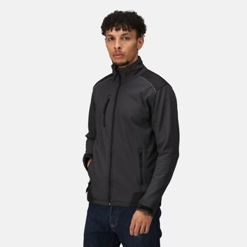 Men's Sandstorm Softshell Jacket Seal Grey