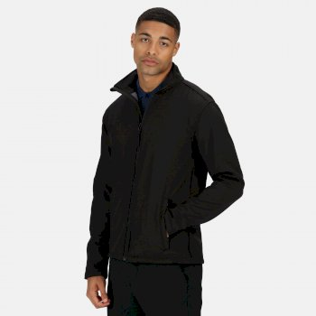 Men's Reid Softshell Jacket Black