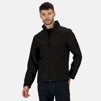 Men's Classic Printable Lightweight Softshell Jacket Black