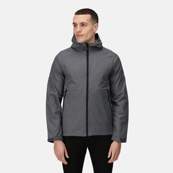 Men's X-Pro Prolite Stretch Softshell Jacket Seal Grey Marl