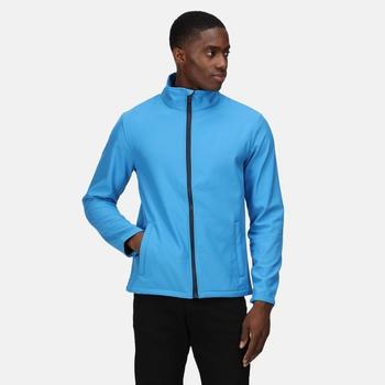 Eco Ablaze Softshell Jacket  French Blue Navy