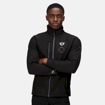Men's Veloce Recycled Softshell Jacket Black