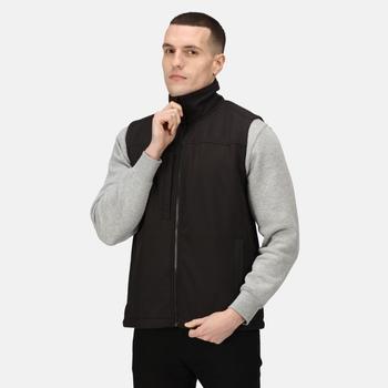 Men's Flux Softshell Bodywarmer Black