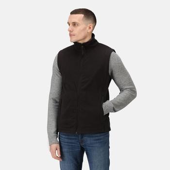 Men's Micro Fleece Bodywarmer Black