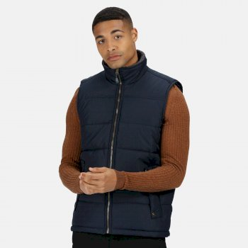 Men's Altoona Insulated Quilted Gilet Navy