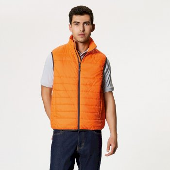 Aerolight Down Touch Bodywarmer Magma Orange