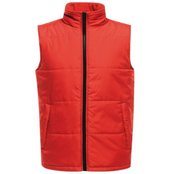 Men's Access Insulated Bodywarmer Classic Red Black