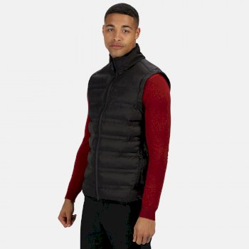 Men's X-Pro Icefall II Insulated Quilted Bodywarmer Black