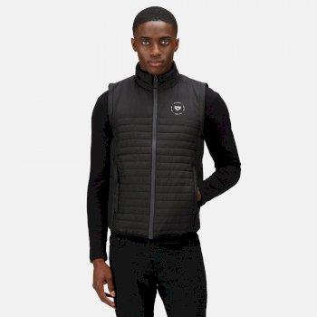 Men's Veloce Recycled Insulated Bodywarmer Black