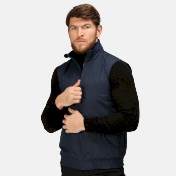 Men's Dover Fleece Lined Bodywarmer Navy