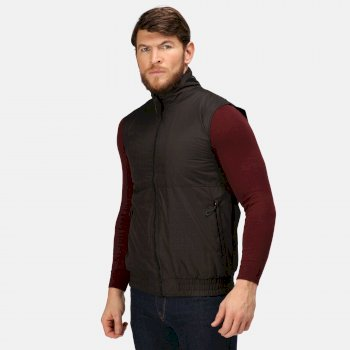 Men's Dover Fleece Lined Bodywarmer Black
