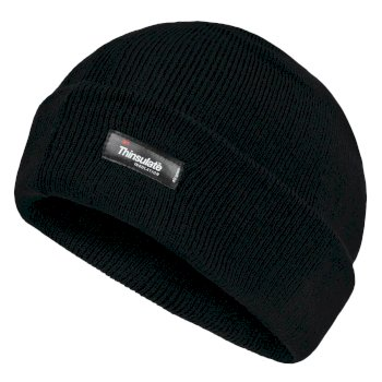 Men's Thinsulate Acrylic Hat Black
