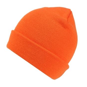 Men's Axton Cuffed Beanie Orange