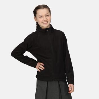 Kids' Brigade II Full Zip Fleece Black