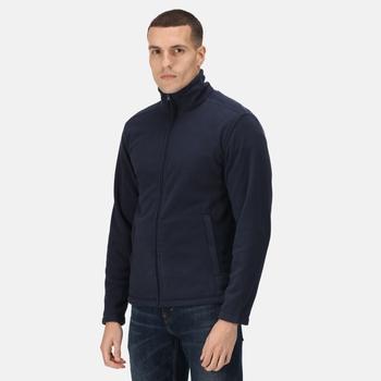 Micro Full Zip Fleece Dark Navy