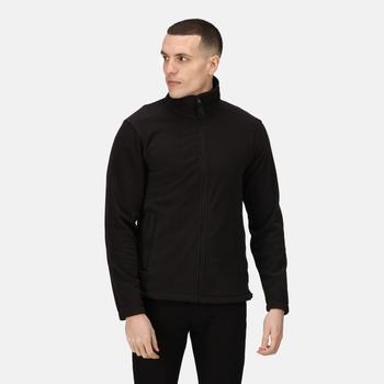 Micro Full Zip Fleece Black
