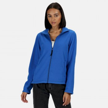 Women's Micro Lightweight Full Zip Fleece Oxford Blue