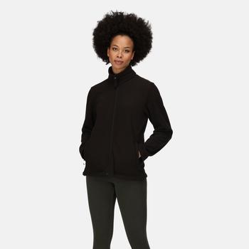 Women's Micro Lightweight Full Zip Fleece Black