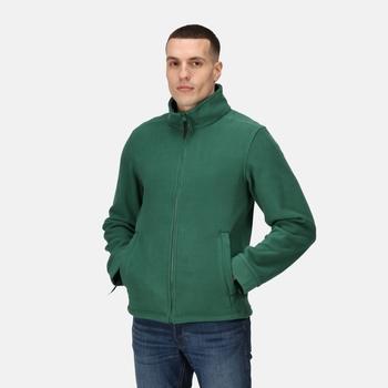 Men's Classic Full Zip Fleece Bottle Green