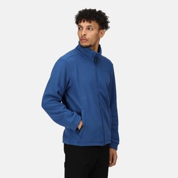 Men's Classic Full Zip Fleece Royal Blue