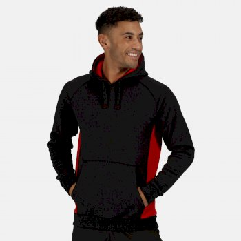 Men's Vancouver Hoodie Black Classic Red